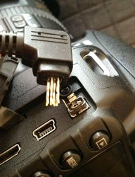 D3100 Battery Grip Plug Fail