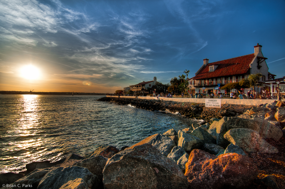 Seaport Village Sunset