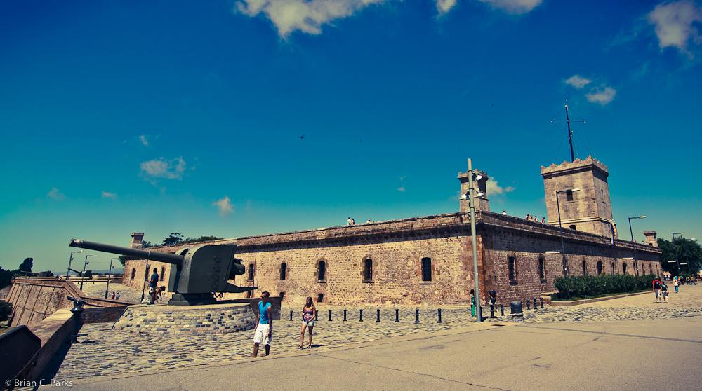 Montjuïc Castell Battlements