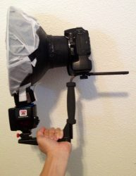 Stroboframe Bracket with DIY Ring Flash