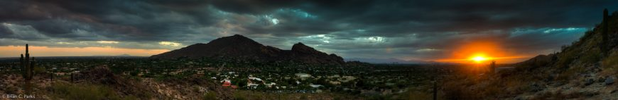 Camelback at Dusk