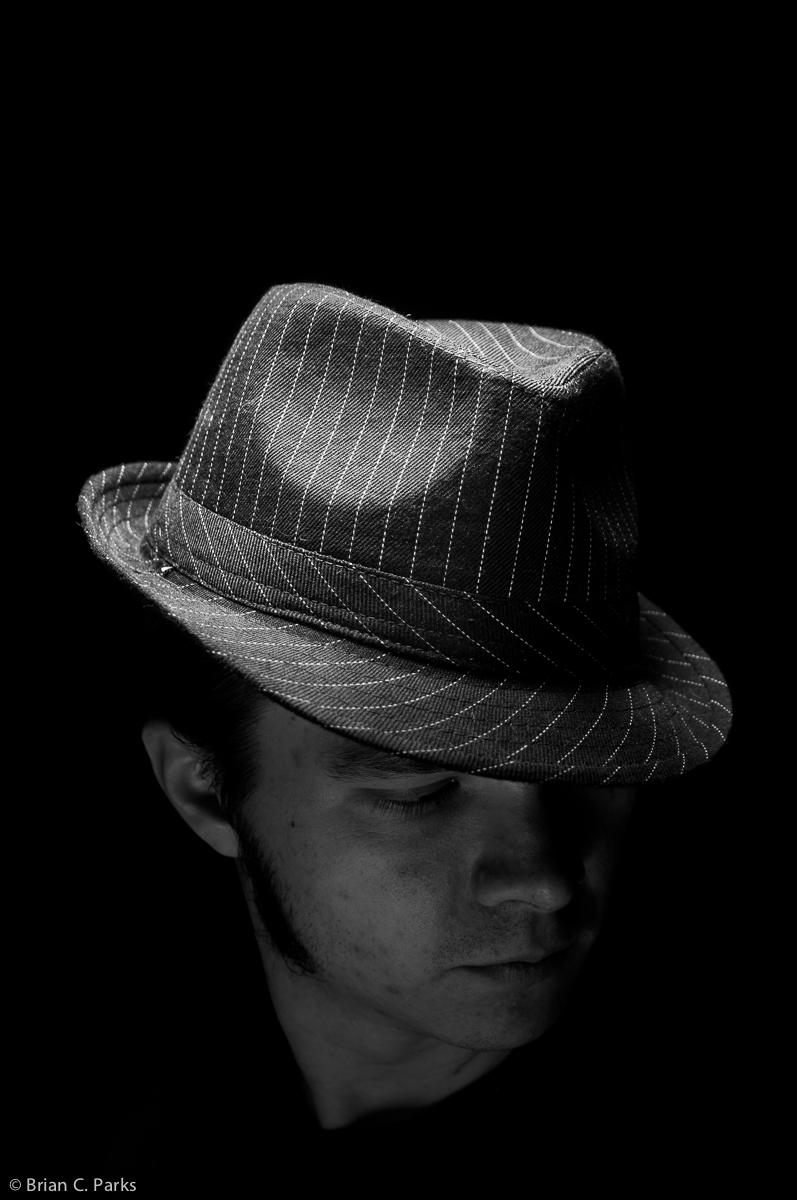 Moody self portrait